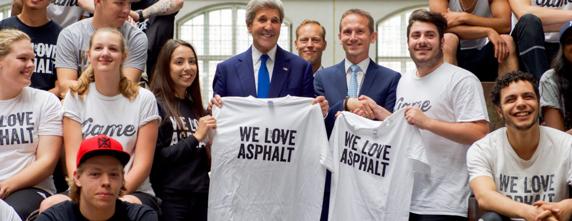 Secretary Kerry visited Denmark and Greenland